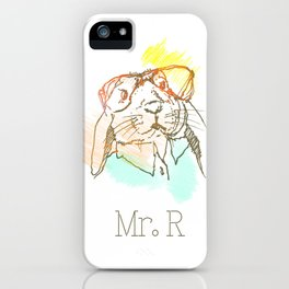 Mister R iPhone Case