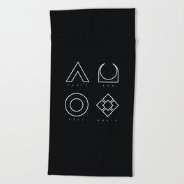 PAUSE – RAID Beach Towel