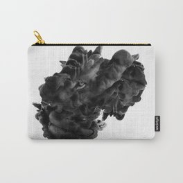 Lion in smoke ink Carry-All Pouch