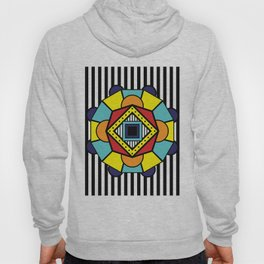 African Inspired Geometric Design Hoody