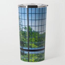 Starry Night   Waters Reflection Modern Architecture Fine Art Photography Travel Mug