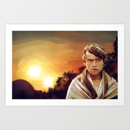 The Turning Point Art Print