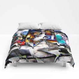Bowery Graffiti Comforters
