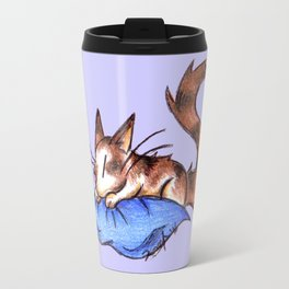 Pillow Cat Travel Mug