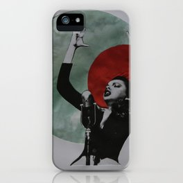 Just a singer iPhone Case