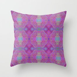Tryptile 45b (Repeating 1) Throw Pillow