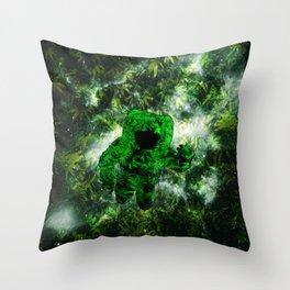 Feeling Strange Throw Pillow