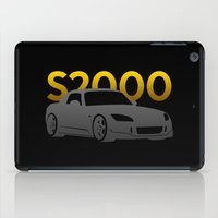 honda iPad Cases featuring Honda S2000 by Vehicle