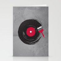 poster Stationery Cards featuring Art of Music by dan elijah g. fajardo