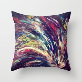 Skyfire Throw Pillow