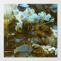 Canvas Prints featuring Fower in winter by clemm