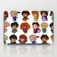 percy jackson iPad Cases featuring Chibis of Olympus by chubunu