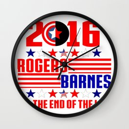 2016 BARNES RODGERS Wall Clock
