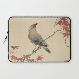 Japanese Maple Songbird  Laptop Sleeve