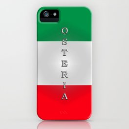 Italia Osteria iPhone Case