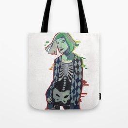 Goth Hera Tote Bag