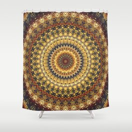 Mandala 380 Shower Curtain