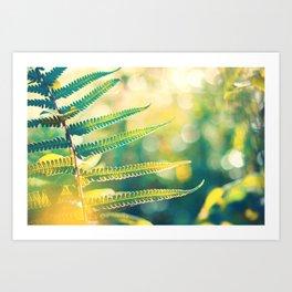 Flow of Energy Art Print