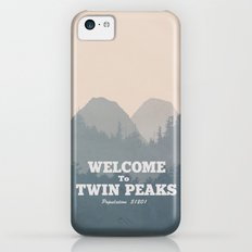 Welcome to Twin Peaks v2 iPhone 5c Slim Case