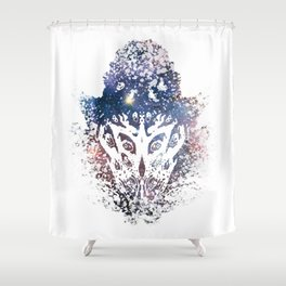 You don't see it until you do. Shower Curtain