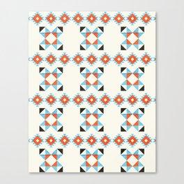 geometry navajo pattern no2 Canvas Print