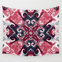Hearts and Twisters Wall Tapestry