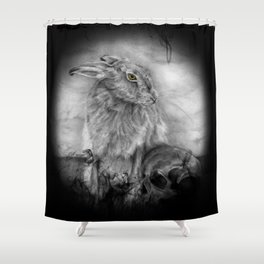 INTO DUST Shower Curtain