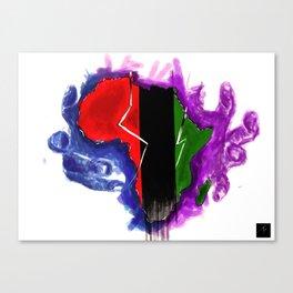 Africa Unite Canvas Print