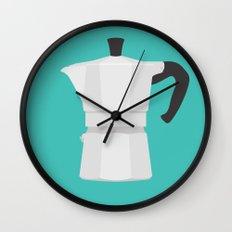 #67 Bialetti Wall Clock