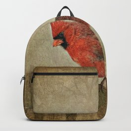 RED bird Backpack