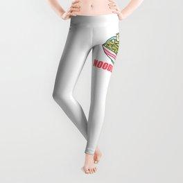 I Love Noodle Kawaii Artwork Leggings