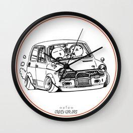 Crazy Car Art 0223 Wall Clock