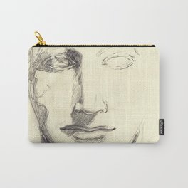 Head of a Goddess - sketch Carry-All Pouch