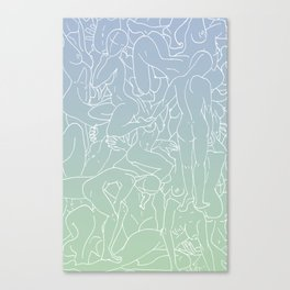 Bodies in Color Canvas Print