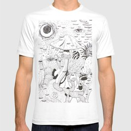 Space Forest T-shirt