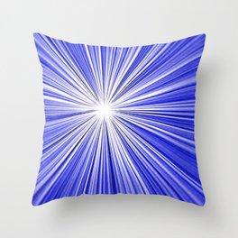 A splash of light Throw Pillow