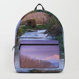 Genil River And Sierra Nevada At Sunset. Veleta 11148 Ft. Backpack