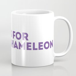 C is for Chameleon - Animal Alphabet Series Coffee Mug