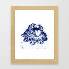 Lumpy Framed Art Print