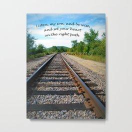 Proverbs 23:19 Metal Print