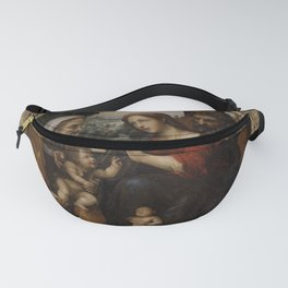 Sodoma - The Holy Family with Saint Elizabeth and the Infant Saint John the Baptist Fanny Pack