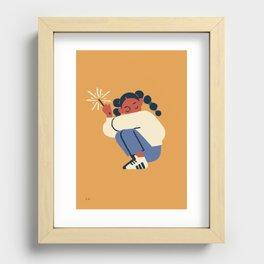 Spark Recessed Framed Print