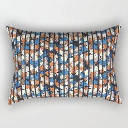 Flower + Vertical Stripe : TM17063 Rectangular Pillow