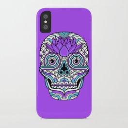 Lotus Skull iPhone Case