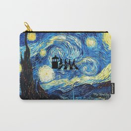 The Doctors Walking Of Starry Night Carry-All Pouch