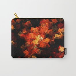 square fantasy embers Carry-All Pouch