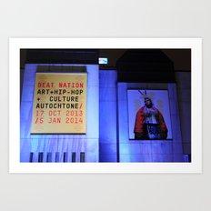 Beat Nation Montreal Art Print