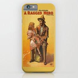 Ragged Hero iPhone Case