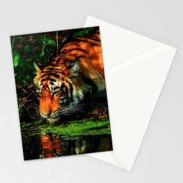 Paying Homage To The Jungle King Stationery Cards