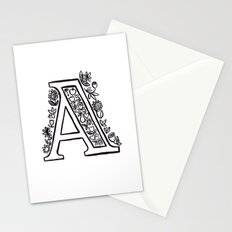 A is for Stationery Cards